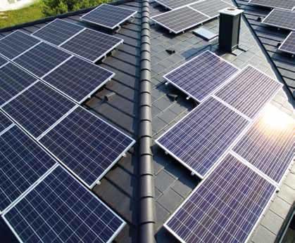 Hagyományos (nagytáblás) napelemes rendszer
